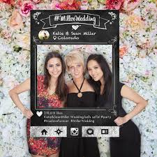 photo booth picture frames social media photo prop chalkboard frame wedding prop party