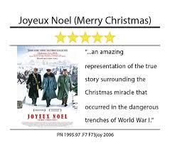 movie review joyeux noel merry christmas media center hbll