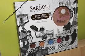 Harga Sariayu Kit diary of niken review sariayu box across the continent