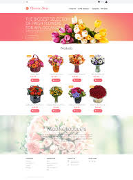 flowers templates templatemonster