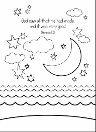 fantastic creation bible story coloring pages creation