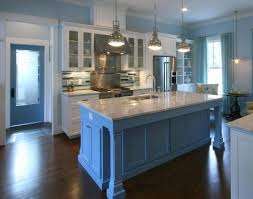 Blue Kitchen Sink Blue Kitchens With White Cabinets White Wooden Kitchen Cabinet On