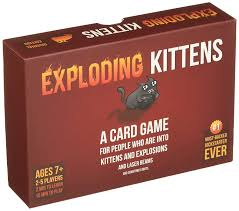 amazon com exploding kittens a card game about kittens and
