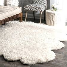 Fur Area Rug Stylish Ideas Faux Fur Carpet Diy Rug How To A Flokati