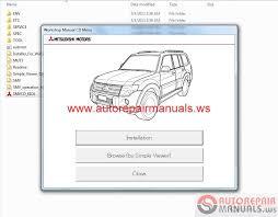 mitsubishi pajero 2013 service manual auto repair manual forum