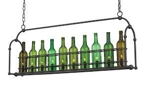 Glass Bottle Chandelier Currey U0026 Company Cin Cin Wine Bottle Chandelier At Modernist Lighting