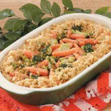 carrot broccoli casserole recipe taste of home