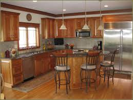 Granite With Cherry Cabinets In Kitchens Natural Cherry Cabinets With Granite Home Design Ideas