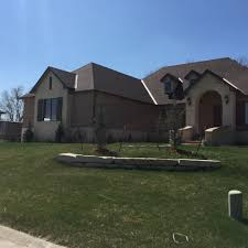 landscaping and lawn care before and after daniels lawn and landscape construction after wichita