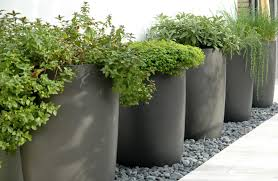 Large Planters Cheap by Large Plant Pots Planters Indoor Outdoor Garden Tall Plastic Planter