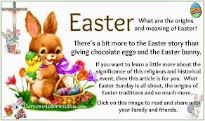 the story of the easter bunny daveswordsofwisdom the origins and meaning of easter