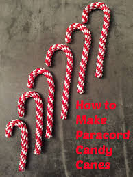 tutorial how to make paracord candy canes just a mom u0027s take on