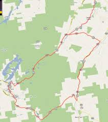 Boston Marathon Route Map by Runtri Ironman Lake Placid Bike Course Map