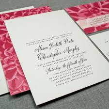 Wedding Invitation Cards Font Styles Remarkable Wedding Invitation Card Design Idea With Pink Floral