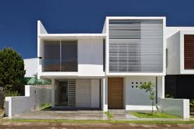 Home Exterior Design In Delhi by Minimalist Home Architecture By Agraz Arquitectos Hupehome