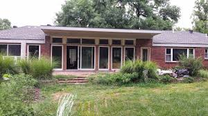 Exterior Home Design by Exterior Design Exciting Sliding Glass Door With Faux Brick