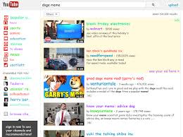Doge Meme Youtube - horrible doge know your meme