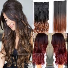 Aliexpress Com Hair Extensions by Aliexpress Com Buy Ombre Hair Extensions 5 Clips In Hair