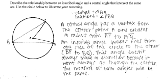 central and inscribed angles students are asked to describe the