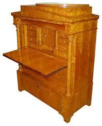 Secretary Style Desks Consigned Rare Biedermeier Style Antique Secretary Desk