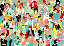 designer wrapping paper lalaland wrapping paper singh illustrator