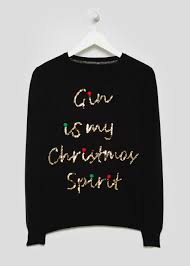 christmas jumper gin novelty christmas jumper matalan