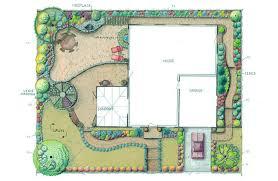 plan view verterra landscape design portfolio