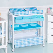 Blue Changing Table Costway Rakuten Costway Baby Infant Bath Changing Table