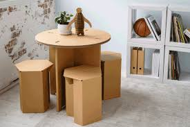 karton design karton s cardboard furniture is stylish durable and affordable
