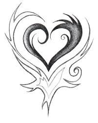 tribal heart by guillaumgibault on deviantart