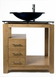 Bamboo Bath Vanity Cabinet Modern Bamboo Bathroom Cabinet And Vanities
