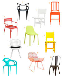 Colorful Modern Outdoor Dining Chairs Design Milk - Designer outdoor chair