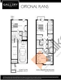 dual master bedroom floor plans gallery towns talkcondo