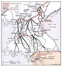 Map Of The United States During The Civil War by An Overview Of The Korean War
