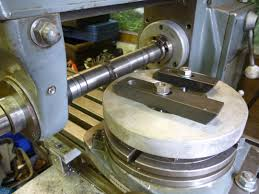 making a rotary table making large spur gears using a rotary table john f s workshop