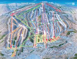 mount snow trail map