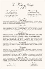 sle wording for wedding programs awesome wedding reception program wording photos styles ideas