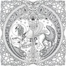 celtic mandala coloring page free download