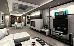 minimalist modern design luxury house interior modern with white