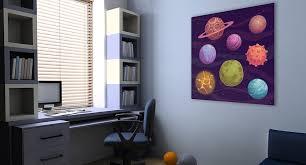 tableau chambre un accent mural fabuleux avec les tableaux pour la chambre d enfant