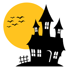 scary halloween house clipart collection