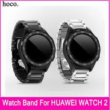 huawei classic bracelet images Hoco 2017 hot sale silver black 20mm link bracelet band for huawei jpg