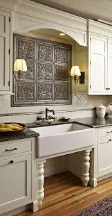farmhouse sink with backsplash vintage style kitchen with a cool backsplash farmhouse sink