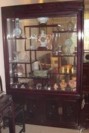 rosewood china cabinet for sale rosewood display cabinet and hitachi fridge singapore classifieds