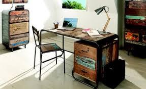 bureau bois recyclé rentrée des bureaux pour petits et grands