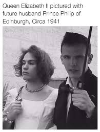 Queen Elizabeth Meme - a vintage photo of queen elizabeth ii and prince phillip idubbbz