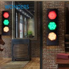 stage lighting mounting bars creative 3 color stage light loft retro cafe iron wall l wall