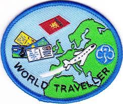World Traveller images Guide world traveller badge history of girlguiding pinterest jpg