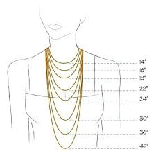 necklace size images Necklace size chart chain length luxurytransportation jpg