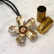 bullet flowers steunk flower made from a bullet casing by flower7 on etsy